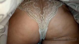 Ut_3767# This season is very popular narrow white panties, preferably translucent. Another fashionis