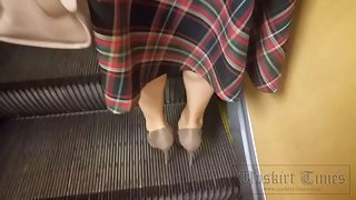 Ut_4480# This girl was wearing a long skirt, but that didn't bother me. I gently lifted the hem and